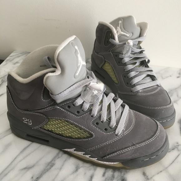 new product a88ee 52d30 Nike Air Jordan 5 Retro Wolf Grey (AJ5, jumpman)